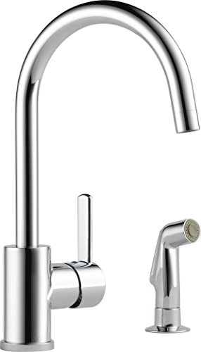 Peerless Precept Single-Handle Kitchen Sink Faucet with Side Sprayer, Chrome P199152LF