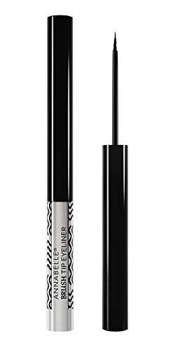 Annabelle Brush Tip Eyeliner, Black, 0.07 fl oz