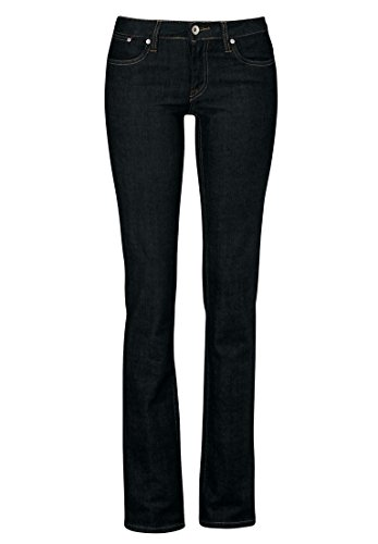 Ellos Women's Plus Size Skinny Jeans Black,18 (Woven Set Coin)
