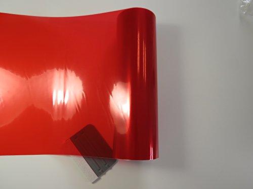 Könighaus Scheinwerfer Tönungsfolie Rot (Rückleuchten Blinker Nebelleuchten) 20 x 30 cm