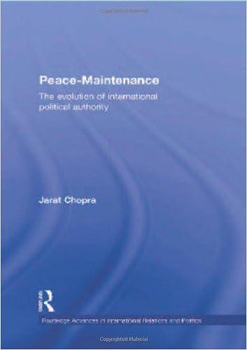 Amazon com: Peace Maintenance: The Evolution of