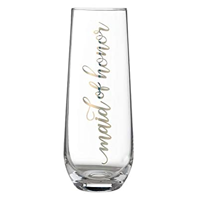 Lillian Rose Gold Stemless Champagne Glass