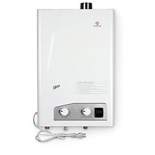 (Eccotemp FVI12-LP Liquid Propane Gas Tankless Water Heaters, White)