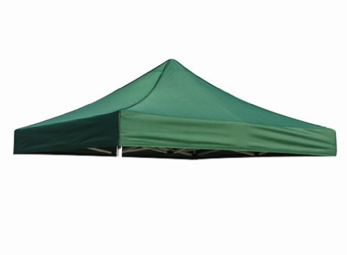 Eurmax New Pop up 10x10 Replacement Instant Ez Canopy Top Cover Choose 21 Colors (Forest Green)