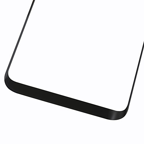 """Replacement Front Outer Lens Glass for S8 Edge Plus, CrazyFire 6.2"""" Samsung Galaxy S8 Edge+ G955 Front Glass Lens Screen Replacement Kit for for G955U G955U1 G955FD (Black)"""
