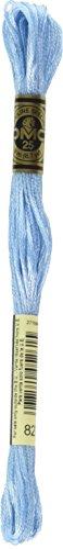 - DMC 117-827 6 Strand Embroidery Cotton Floss, Very Light Blue, 8.7-Yard