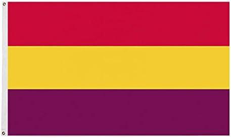 Ericraft Bandera Republicana española Grande 90x150cms Bandera ...