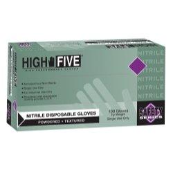 Nitrile blue lightly powdered ind grade size med - MFXN242