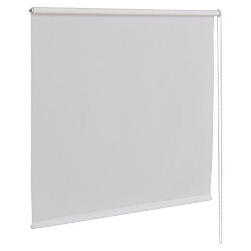 Giantex 37'x60' Semi-shut Roller Blind Sunscreen Sun Shade Window Bedroom (37'x60', White)