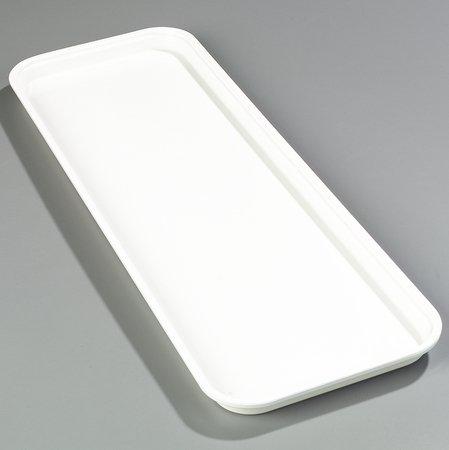 Pearl White Fiberglass Heavy Duty Market Tray -- 12 per case