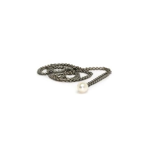 Trollbeads Fantasy Sterling Silver Necklace with Pearl 80 cm TAGFA-00021