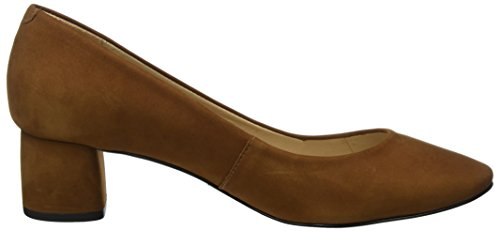 Buffalo London ZS 7426-16 Nobuck, Scarpe con Tacco Donna Marrone (Tobacco)