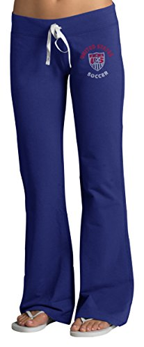 World Cup Soccer United States Women's Pep Rally Pants, Large, Booster Blue (Pep Football Rally)