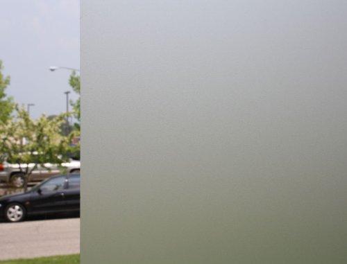 Clear Sandblast, Decorative, Privacy Window Film (39'' x 25ft)