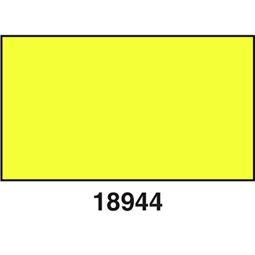 Garvey Yellow Pastel Label For Garvey 22-8 Price Gun - 22mmL x 12mmH