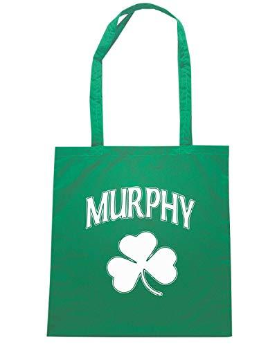 Speed Shirt MURPHY Borsa IRISH Shopper TIR0153 Verde wrrAqxf0Rd