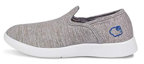 (LeMouton Style Unisex Wool Shoes | Men Women Fashion Sneakers | Comfortable Lightweight Casual Slip on (US Women 6 / US Men 5, Beige))