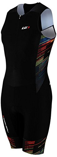Louis Garneau Pro Carbon Suit - Men's Black/Multi, M