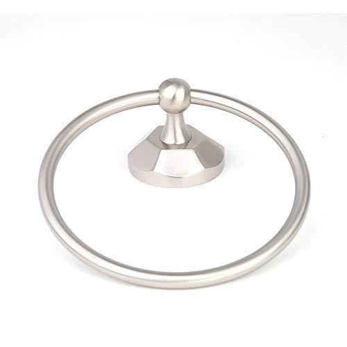 Esaro Towel Ring in Brushed Nickel