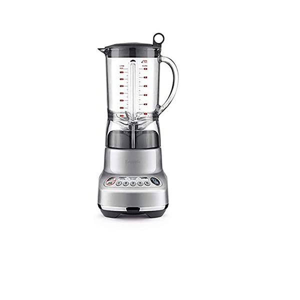 Breville BBL620SIL The Fresh and Furious Countertop Blender, Silver 1