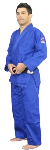 Fuji All Purpose Single Weave Judo Gi - Blue size 000 by Fuji