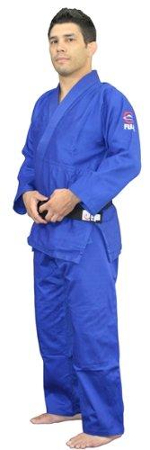 Fuji All Purpose Single Weave Judo Gi - Blue size 0