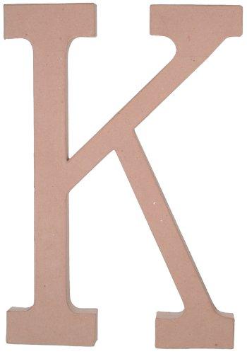23.5 Inch Paper Mache Letter - Paper Mache Letter - K - 23.5 inches