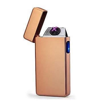 Modesty [Versión Actualizada] Encendedor Eléctrico, Encendedor USB para batería, Cigarrillos, Resistente