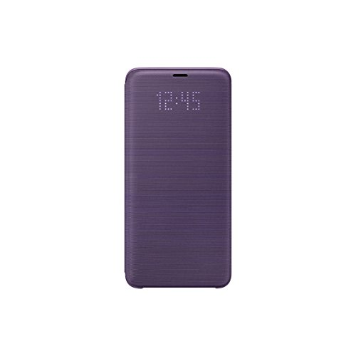 Official OEM Samsung Galaxy S9+ LED View Wallet Cover (Violet)