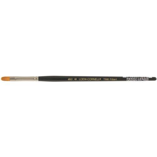 Loew Cornell Golden Taklon Brushes 6 filbert (7500 Arts & Crafts)