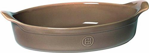 Emile Henry 969042 HR Ceramic Oval Baking dish, Oak