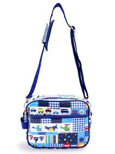 いつも一緒のmy通園バッグ のりものに揺られてハッピートラベル(ネイビー) 日本製 入園グッズ 幼稚園バッグ 保育園バッグ ショルダーバッグ N0518500 B009RYKG5E