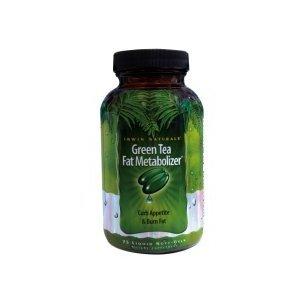 Irwin Naturals verts Gélules Thé métaboliseur Fat 75 de