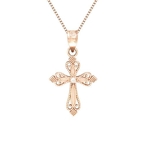 Cross Necklace Pendant Diamond Chain