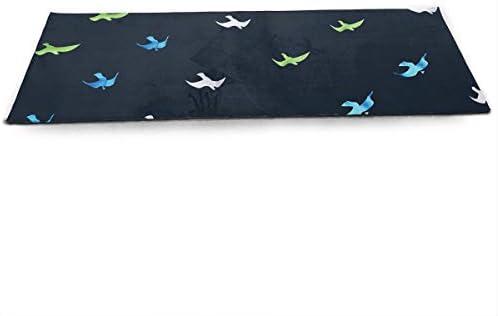 Amazon.com : CCRIM Seagull Print Crystal Velvet Yoga Mats ...