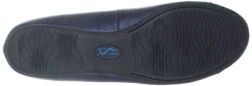 Napa Flat SoftWalk Blue Womens Ballet Dark Black 4qO15