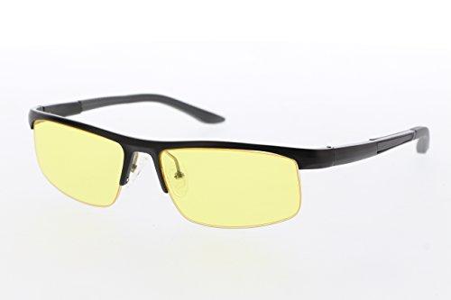 TNTi™ Billet Aluminum Frame eSport Pro Major League Gaming Glasses - Black Pearl by TNT interactive (Image #6)
