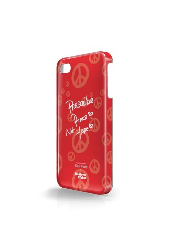 Whatever It Takes WUS-I4S-TKP01 Katy Perry Designed Protective iPhone 4/4S case, Red