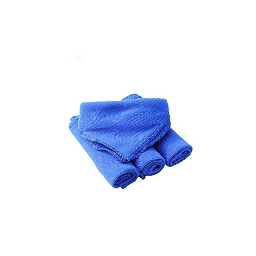28 * 28Cm Soft Microfiber Cleaning Towel Wash Dry Clean Polish Cloth,As Picture