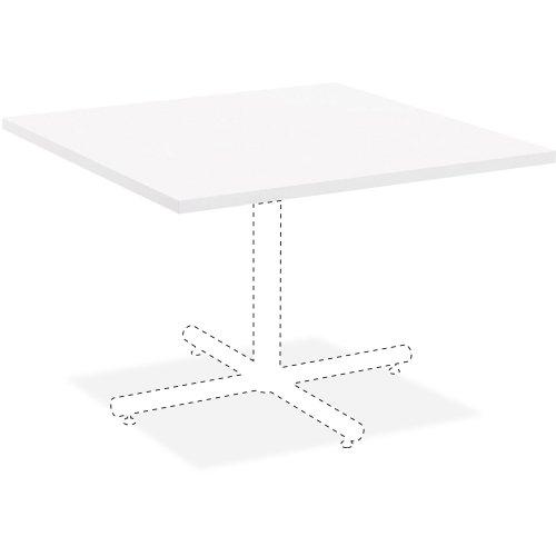 Lorell Hospitality White Laminate Square Tabletop