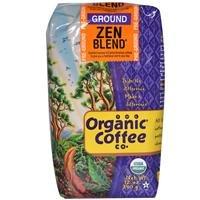 Organic Zen Blend Ground Coffee, 12 Ounce -- 6 per case.