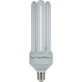 Sunlite SL150/50K/MOG SL150/50K/MOG 150-watt Super High Wattage Tubes Energy Saving Mogul Base CFL Light Bulb, Super White