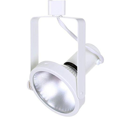 Direct-Lighting 50006 White PAR38 Gimble Ring Line Voltage Track Lighting Head (Renewed)