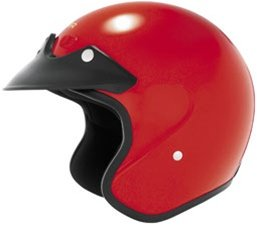 2013 Cyber U-6 Open-Face Motorcycle Helmets - Red - X-Small