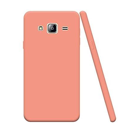 Silingsan Funda Samsung Galaxy J5 2015 SM-J500F, Funda Silicona Protectora Carcasa Candy Goma Cubierta Case Ultra Delgado Cover Protectora Anti ...