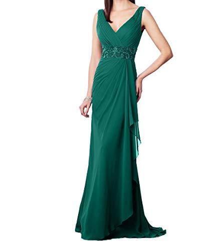 Jaeger Ballkleider Charmant Ausschnitt Promkleider Perlen mit Festlichkleider Gruen Damen Pailletten V Abendkleider Elegant wPq1X
