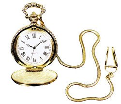 Rubie's Costume Pocket Watch Case with Chain Costume (Costume Pocket Watch)