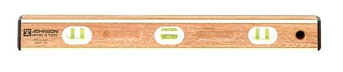 Johnson Level and Tool 536 36-Inch Brass Bound Mahogany Level - 6 -