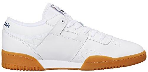 Reebok Herren Workout Low Classic Schuh Weiß / Gummi