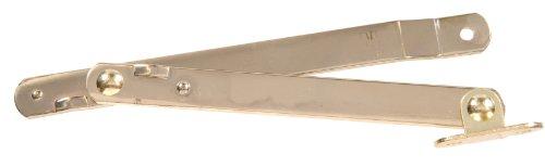 Hillman Hardware Essentials 851581 Folding Support Right Side Brass